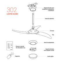 Peça para Reposição Modelo 302 - Tangerina - Spirit