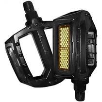 Pedal 9/16 plataforma nylon preto - WG Sports (PAR) -