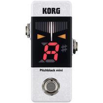 Pedal Afinador Para Guitarra/baixo Pitchblack Pb-mini-wh - Korg -