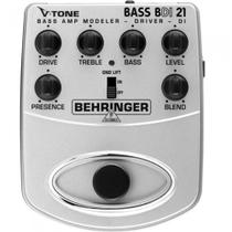 Pedal behringer bdi21 v tone bass driver -
