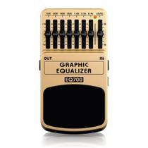 Pedal Behringer EQ700 Equalizador Gráfico Guitarra -