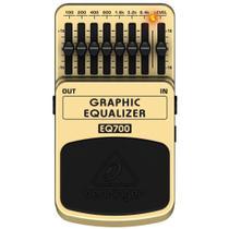 Pedal Behringer EQ700 Equalizador  Guitarra -