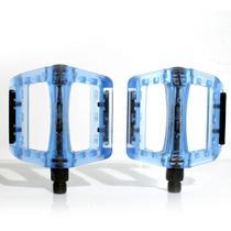 Pedal Bike Plataforma Mtb Wellgo B-107P Nylon Azul 9/16 -