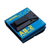 Pedal Boss Ab-2 Seletor -