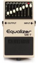 Pedal Boss Equalizador Grafico Ge7 Para Guitarra Ge-7 -