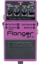 Pedal Boss Flanger Bf3 P/ Guitarra Baixo Bf-3 -