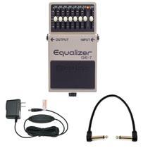 Pedal Boss GE-7 Graphic Equalizer Equalizador + Fonte + Cabo -