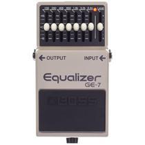 Pedal Boss GE-7 Graphic Equalizer Equalizador -