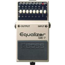 Pedal Boss GE-7 Guitarra Equalizador C/ Nf + Garantia -