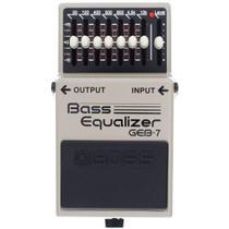 Pedal Boss GEB-7 Bass Equalizer Equalizador Baixo -