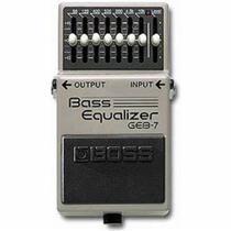 Pedal boss geb7 equalizador para contra baixo geb7 -