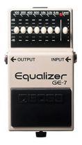 Pedal Boss Guitarra Ge-7 Equalizador Graphic Equalizer -