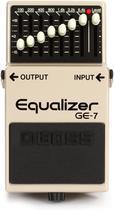 Pedal boss guitarra ge-7 equalizador -