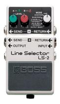 Pedal Boss Guitarra Ls-2 Line Selector A/b Box Loop Ls2 -