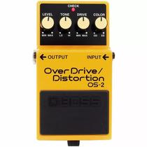 Pedal Boss Os-2 Guitarra Distorção Overdrive Distortion Os2 -
