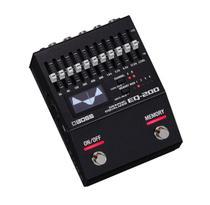 Pedal Boss para Guitarra Equalizador Gráfico EQ-200 -
