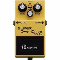 Pedal Boss Super Overdrive Sd1w Waza Craft 3203 -