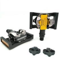 Pedal Clip Shimano M520 Com Plataforma PD22 + Tacos SH51 -