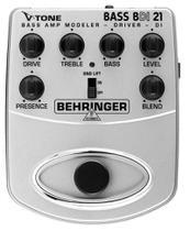 Pedal Contrabaixo V-Tone Bass BDI21 Behringer -