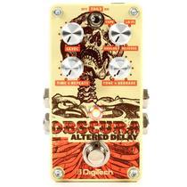 Pedal de Delay Altered Obscura Digitech Pedal para Guitarra -