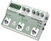 Pedal de efeito Landscape TriEfx Bass TRIBS -