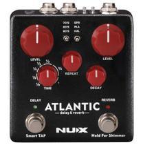 Pedal de Efeito Nux Atlantic Delay e Reverb NDR5 -