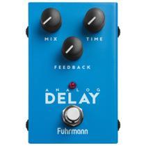 Pedal De Efeito Para Guitarra Fuhrmann Analog Delay Linha One AD20 -