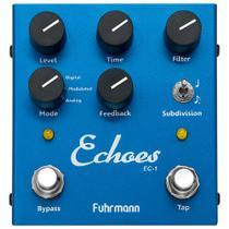 Pedal De Efeito Para Guitarra Fuhrmann Echoes Tap Delay -