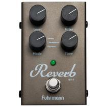 Pedal De Efeito Para Guitarra Fuhrmann Reverb RV-1 -