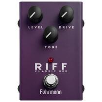 Pedal De Efeito Para Guitarra Fuhrmann Riff Classic 800 Linha One CL20 -