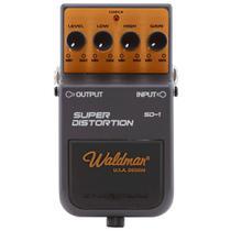 Pedal De Efeito Waldman Super Distortion Sd-1 Para Guitarra -