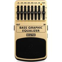 Pedal de Efeitos Behringer BEQ700 Bass Graphic Equalizer -