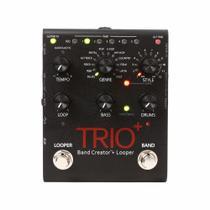 Pedal De Efeitos Para Guitarra Digitech Trio Plus Band Creator + Looper -
