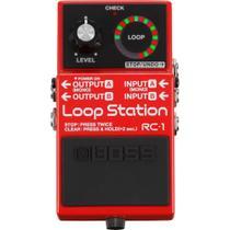 Pedal de Loop Station Boss para Guitarra RC-1 -