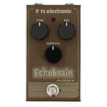 Pedal Delay Analógico para Guitarra TC Electronic Echobrain -
