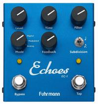 Pedal Delay Echoes Fuhrmann Ec01 Guitarra Violão Baixo Ec 01 -