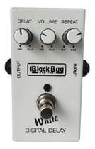 Pedal Delay Para Guitarra Baixo Violao White Twd Black Bug -