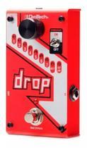 Pedal Digitech The Drop Polifônico P/ Guitarra C/ Fonte Pedaleira -