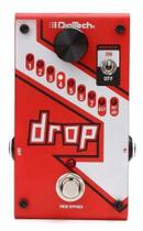 Pedal Digitech The Drop Tune Pitch Shifter + Fonte -