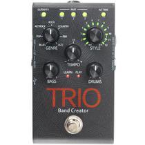 Pedal Digitech Trio Band Creator Efeitos Drum e Bass -