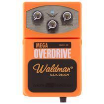 Pedal Distorção Waldman Mega Overdrive Mov-3r Para Guitarra -
