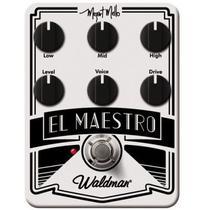 Pedal Distortion El Maestro - Mm 6 Fx - Waldman -