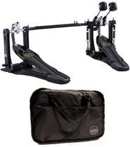Pedal Duplo Mapex P800TW Armory Series Dual Chain Drive com Bag e Pesos nos Batedores -