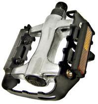 Pedal em Alumínio com Borda em Aço Preto Inglês - Diversos