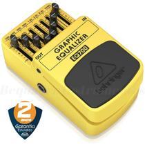 Pedal Equalizador Behringer Eq700 Guitarra -