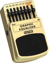 Pedal Equalizador Behringer EQ700 p/ Guitarra -