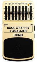 Pedal Equalizador Para Baixo Multi-efeito Behringer BEQ700 -