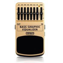 Pedal Equalizador para Contrabaixo Behringer BEQ700 Bass Graphic Equalizer -
