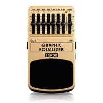 Pedal Equalizador para Guitarra Behringer EQ700 Graphic Equalizer -