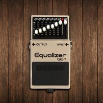 Pedal Equalizador para Guitarra GE-7 - Boss -